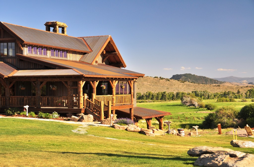 Ranch Style Log Cabins Images