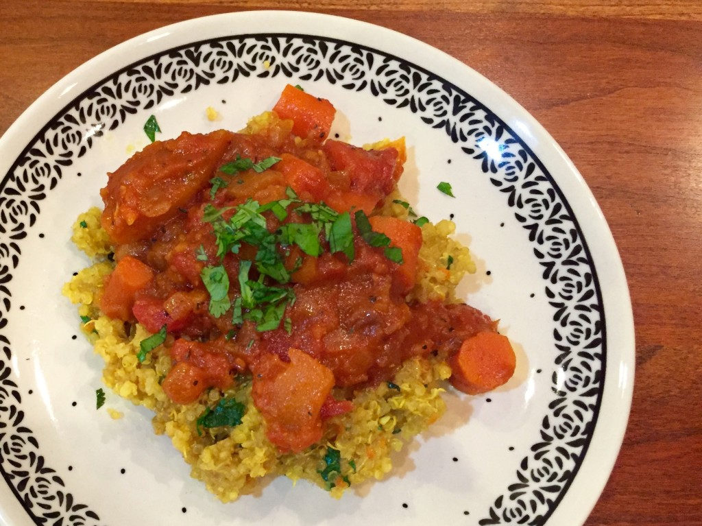Moroccan Butternut Squash and Carrot Stew Over Quinoa | We ...