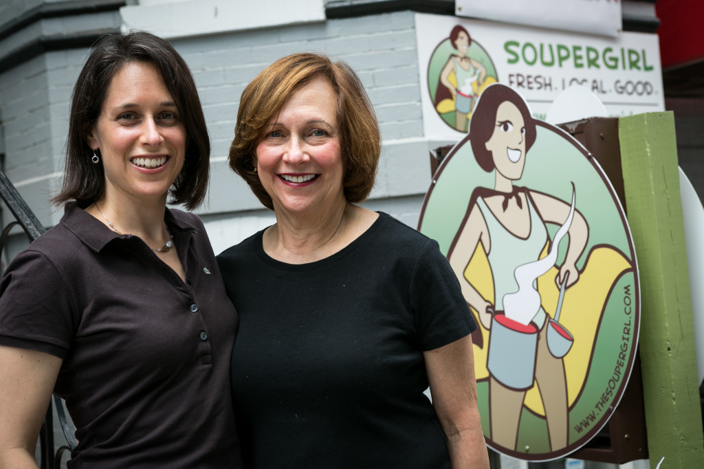 soupergirl and mom